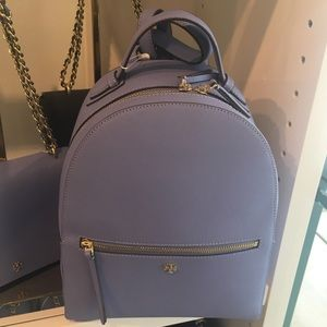Tory Burch Emerson Leather Backpack